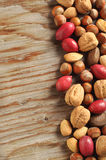 Assortment of tasty nuts Stock Photography
