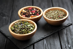 Assortment of tea Stock Images