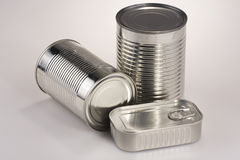 Assortment of Tin Can Royalty Free Stock Image