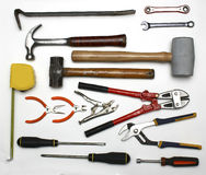 Assortment of tools royalty free stock photos