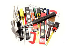 Assortment of tools Stock Images