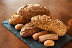 Assortment of Traditional Breads. Royalty Free Stock Photography