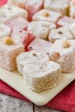 Assortment of Turkish Delight Stock Photos