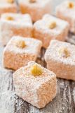 Assortment of Turkish Delight Stock Images