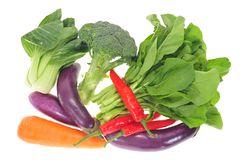 Assortment Of Vegetables Stock Photo