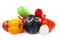 Assortment of vegetables Stock Photos