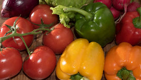 Assortment of vegetables Background Stock Photography