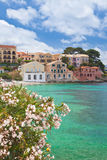 Assos. On the Island of Kefalonia in Greece Royalty Free Stock Photo