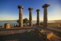 Assos Behramkale Турция Стоковая Фотография RF