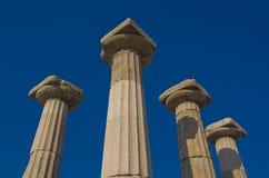Assos Behramkale Turkiet Arkivbild