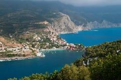 Assos Griechenland lizenzfreie stockbilder