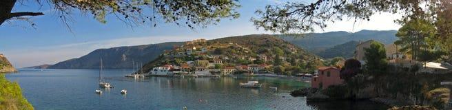 Assos Kefallonia, Griechenland 2 Stockbild