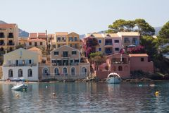 Assos,Kefalonia Stock Photo