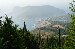 Assos landscape Stock Images