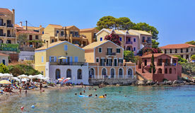 Assos village Stock Images