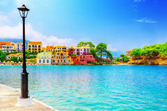 Assos village Royalty Free Stock Photography