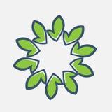 assosiated logonatursommar Blom- logo white för vektor för illustration för bakgrundsblommasymbol set Blom- Spa, skönhetsalonembl royaltyfri illustrationer