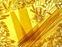 assotrted макаронные изделия предпосылки Стоковое Изображение RF