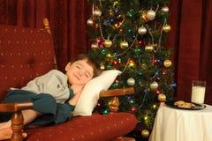 Assoupissement de Noël Image stock