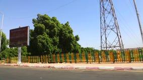 Assuan-Straßen an Ägypten-Video HD stock video footage
