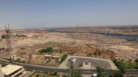 Assuan von höchst- Ägypten stock footage