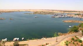 Assuan von höchst- Ägypten stock video footage