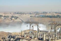 Assuandamm - Ägypten stockfotografie