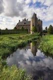 Assumburg-Schloss in Heemskerk Stockbild