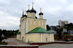 Assumption (Admiralty) Church the oldest preserved Church of Voronezh. Full name of the Church  Dormition of the Theotokos and eve Royalty Free Stock Photo