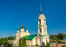 The Assumption Admiralty Church in Voronezh, Russia stock photos