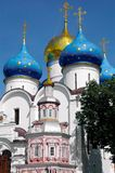The Assumption Cathedral. In the Trinity Lavra of St. Sergius, Rus Royalty Free Stock Photos