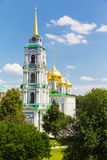 Assumption Cathedral on a background of blue sky Stock Photos