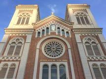 Assumption Cathedral. In bangkok Thailand Stock Photos