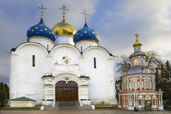 Assumption Cathedral (1559 - 1585) and chapel Stock Photography