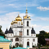 Assumption cathedral of Dmitrov Kremlin, Russia Stock Photos
