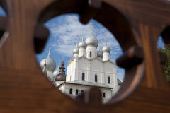Assumption Cathedral domes Stock Image