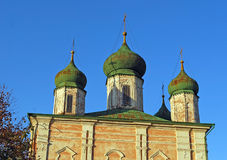 Assumption Cathedral. Goritsky Monastery of Dormition in the city of Pereslavl-Zalessky. Russia. Assumption Cathedral. Goritsky Monastery of Dormition in the Stock Photos