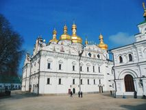The Assumption Cathedral in Kiev Royalty Free Stock Image