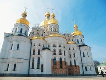The Assumption Cathedral in Kiev Royalty Free Stock Photography
