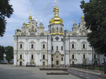 Assumption Cathedral in Kiev Pechersk Lavra in Kiev. Built in the 11th century stock photos