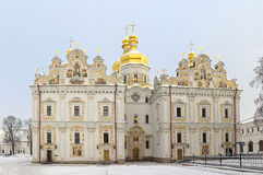 Assumption Cathedral of Kyiv Pechersk Lavra Royalty Free Stock Images