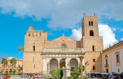 The Assumption Cathedral in Monreale Royalty Free Stock Photos