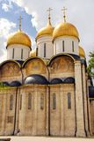 The Assumption cathedral in Moscow Kremlin Stock Images