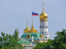 Assumption Cathedral of the Moscow Kremlin Stock Image