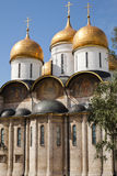 The Assumption Cathedral, Moscow Kremlin, Russia. Royalty Free Stock Photos