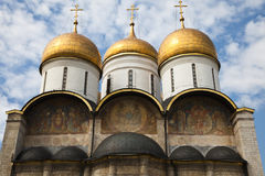 The Assumption Cathedral, Moscow Kremlin, Russia. Stock Images