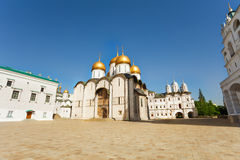 Assumption Cathedral in Moscow Kremlin, Russia Royalty Free Stock Photos