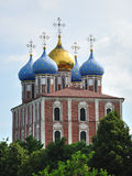 The Assumption cathedral, Ryazan Kremlin, Russia Stock Photography