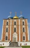 Assumption Cathedral of Ryazan Kremlin, Russia. Assumption Cathedral (circa 1699) of Ryazan Kremlin, Russia Stock Image
