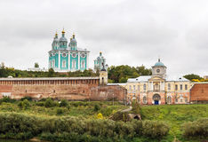 Assumption Cathedral in Smolensk, Russia Royalty Free Stock Photography